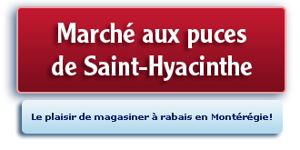 Le march� aux puces de Saint-Hyacinthe
